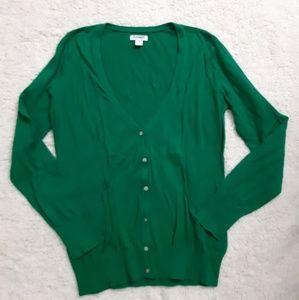 🔴 Old navy Green cardigan